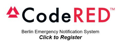 CodeRed - Berlin Emergency Notiication System - Click to Register