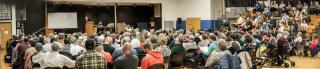 File photo of a Berlin Annual Town Meeting (Marty Miller photo)