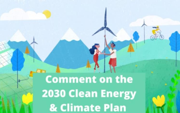 YOUR comments sought by the Commonwealth of Massachusetts on its 2030 Clean Energy and Climate Plan (CECP)