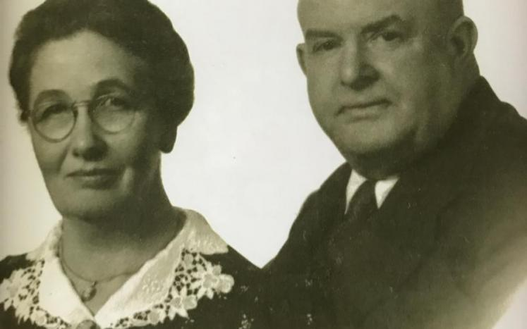 FAMILY PHOTO: The late Sylvia Marble and Ralph Perkins Marble